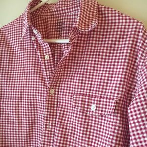 J Crew red button down